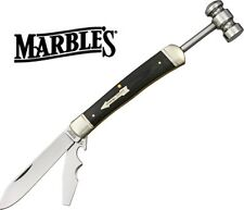 Marbles Trapper Hammer Folding Pocket Knife Workman Series Free Shipping MR262
