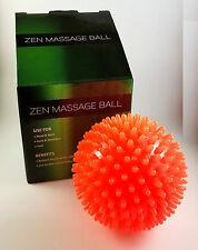 New Zen Massage Therapy Ball for Body Foot Neck Back / Pain Stress Relief