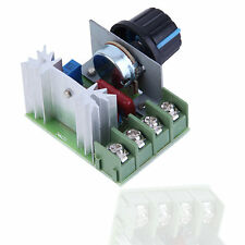 4000W AC 220V SCR Voltage Regulator Speed Controller Dimmer Thermostat LE