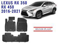 All Weather Floor Mats Liners Set For Lexus RX 350 450 2016-2021 Hybrid 3D Odor