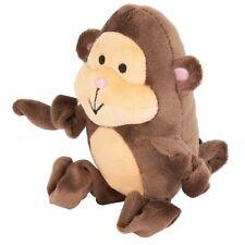 "LM Petmate Zoobilee Stretchies Monkey Dog Toy 5"" Long"