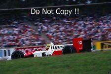 Ayrton Senna McLaren MP4/4 Winner German Grand Prix 1988 Photograph 3