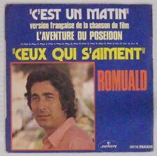 L'aventure du Poseidon 45 tours Romuald 1973