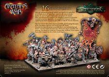AVATARS OF WAR - Marauders of the Apocalypse w/Weapon & Shield Box *Warhammer*