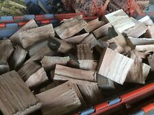 Oak Chunks,wood Smoking Chunks,25 Lbs,12 Kg,smoking Wood,free Delivery