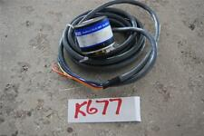 LENZE INCREMENTAL SHAFT ENCODER W6-68136  755-HV  PPR:20 No 1B7696  STOCK#K677