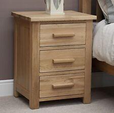 Windsor solid oak bedroom furniture bedside cabinet table stand with felt pads