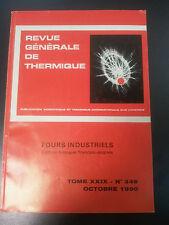 Revue générale de thermique - Tome XXIX - N°346 - Octobre 1990 - Bilingue