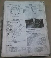 DODGE Models 100-800 TRUCK OEM Service Manual Maybe Mid 60's to early 70's Rough