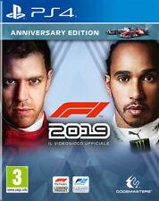 Videogioco PS4 F1 2019 Anniversary Edition Formula 1 ITA per Sony PlayStation 4
