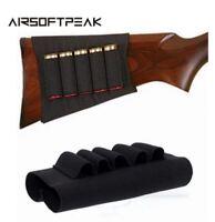 Manchon Cartouchiere Crosse Fusil Etui Airsoft Chasse Holder Rifle Cartridges