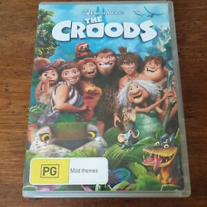The Croods DVD R4 Like New! FREE POST