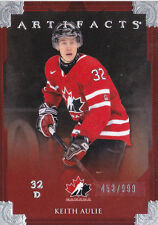 12-13 Artifacts Keith Aulie /999 Team Canada 2012