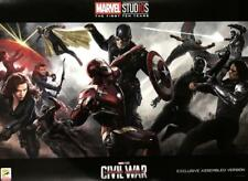MARVEL'S CAPTAIN AMERICA CIVIL WAR Original Promo Movie Poster SDCC 2018 MINT