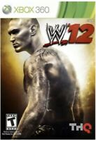 WWE '12 Xbox 360 GAME DISC ONLY Wrestling 2012