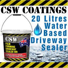 Water Based Driveway Sealer - 20L