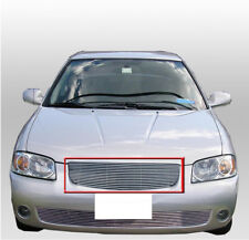 FRONT HOOD MAIN UPPER BILLET GRILLE GRILL INSERT FOR 2004 2005 2006 SENTRA SEDAN