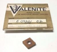 1 PC. NEW VALENITE CARBIDE INSERT CNMG432 GRADE VN5 TIN COATED 80 DEGREE DIAMOND