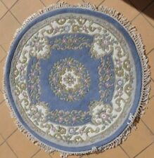 Wool Medallion Hand-Knotted Shag Rugs