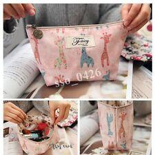 New Fashion Beauty Women Giraffe Travel Case Cosmetic Bag Makeup Pouch-26