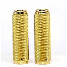 Motorcycle Grips for Nash Sticky Internal Throttle in Solid Brass
