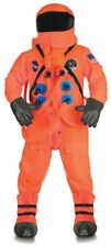 Orange Astronaut Suit Deluxe Costume NASA Space Halloween