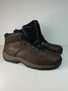 Nice Condition, Mens Timberland Hiking Boots Brown Waterproof Size 14W