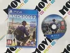 WATCH DOGS 2 per Playstation 4 PS4 italiano USATO garantito