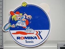 Aufkleber Sticker Romika - Tennis - Sport - Ausrüster - Schuhe - (M1037)