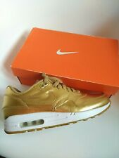 Nike air max 1 Men's Trainers Size 7 authentic 100% PRM sample gold