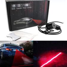 Red Car Led Laser Fog Light Rear Anti-Collision Brake Tail lights Warning Lamp M
