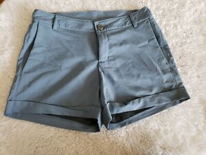 Free Fly Apparel Women's Shorts Bamboo Charcoal Blend Stretch Blue Size Small