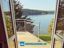 ? Traum Ferienhaus Seezugang Badesteg Boot Kamin angeln Urlaub Schwerin Ostsee