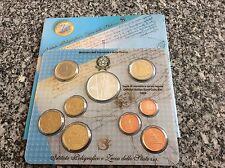 Coffret Italie 2003 : 8 pièces de 1 ct à 2 € + 1 de 5 € en argent