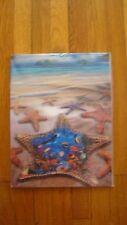 """7 x 3.5"""" Stereogram 3D Poster Stunning Ocean View -"""