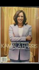 VOGUE MAGAZINE -(Gold Cover) KAMALA HARRIS MADAM VICE PRESIDENT - FEBRUARY 2021