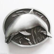 Original Fish Dolphin Wildlife Metal Belt Buckle