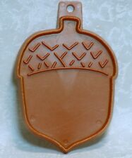 Hallmark Vintage Plastic Cookie Cutter - Acorn Nut Fall Thanksgiving Autumn