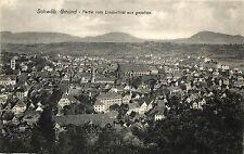 Schwäbisch Gmünd, Partie vom Lindenfirst aus gesehen, ca. 20er Jahre