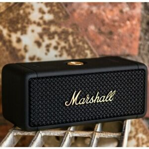 MARSHALL Emberton Portable Bluetooth Speaker Waterproof Black & Brass