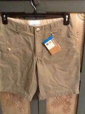 Columbia Tryson Creek Shorts Olive Green Women Size 8/9 UV Sun Protection 15 NWT