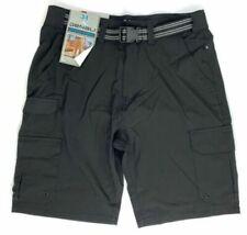 Mens Belted Cargo Shorts Denali