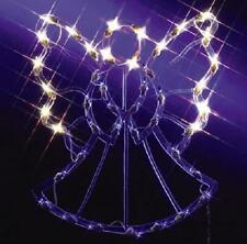 """17"""" Lighted Pre Lit Christmas Angel Window Decoration Silhouette Outdoor Decor"""