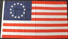 Betsy Ross Flag 5x3 American History 1776 Revolutionary War Patriotic USA bn