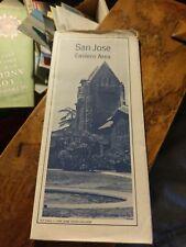 San Jose California  eastern Area Map  1970's ?