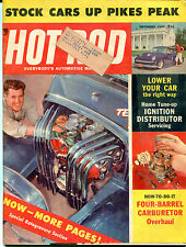 Hot Rod Magazine September 1957 ML Four-Barrel Carburetor VGEX 122115jhe