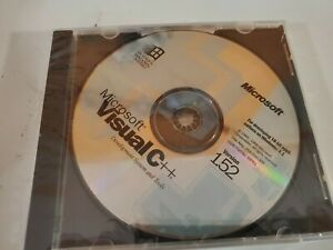Microsoft Visual C++ 1.52 Development System and Tools - NEW Sealed Disc