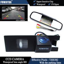 4.3'' Mirror Monitor CCD Reverse Camera for OPEL Astra H/Corsa D/Meriva A/Vectra