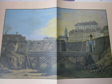 Wien Archiv Edition 1110 Gesprengte Vorwerke  Burgbastei 1809 Jeschke 4 Bilder