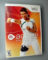 Wii Active Personal Trainer (Nintendo Wii, 2009) Tested & Works